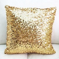 Europe Luxurious Sequin Pillow Cushion Cover Pillow Case 18 Inch Netlab Tm