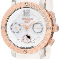 """Mulco Unisex MW5-1622-013 """"Nuit"""" Stainless Steel Watch"""