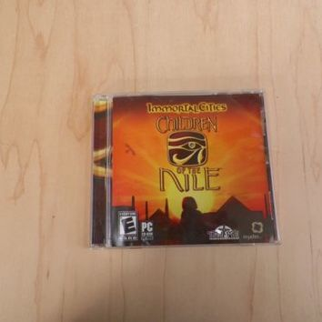 Immortal Cities: Children of the Nile (PC, Tilted Mill, 2004)