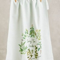 Springtime Harvest Dishtowel by Anthropologie