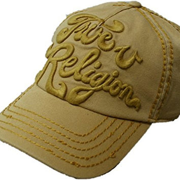 True Religion Solid Logo Baseball Cap (SQUASH)
