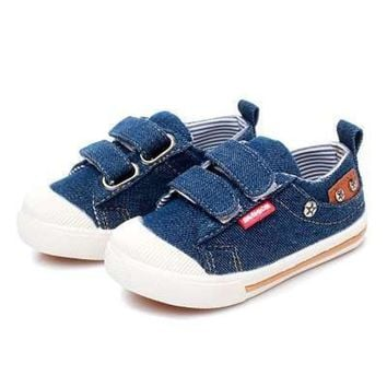 Comfy Kids Shoes for Girls Boys sneakers Jeans Canvas Children Denim Shoes boots Kids casual shoes baby Sneakers