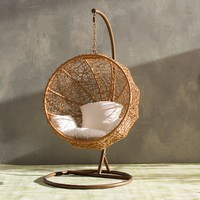 Eliott Swing Chair with Stand