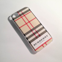 Burberry iPhone 4/4S Case by VanityCases on Etsy
