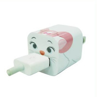 Disney Iphone Charger USB Skin Sticker Wrap -Sticker Only Not Include Charger (Marie Cat)