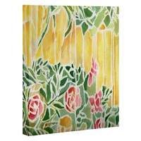 Rosie Brown Tiffany Inspired Art Canvas