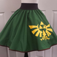 Video Game Hero Inspired Skirt (Assorted Colors Avaliable)