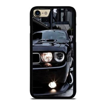 BLACK DODGE CHALLENGER iPhone 4/4S 5/5S/SE 5C 6/6S 7 8 Plus X Case