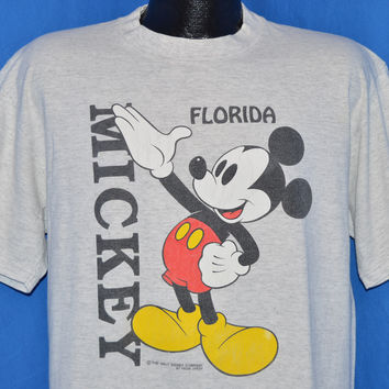 90s Mickey Mouse Florida t-shirt Large
