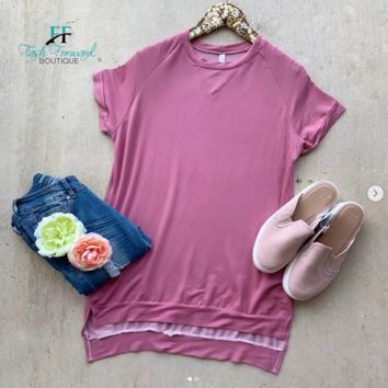 This Moment Mauve Top