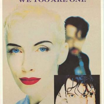 The Eurythmics Band Portrait Poster 24x34