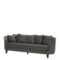 Grey Pillow Back Sofa | Eichholtz Landon