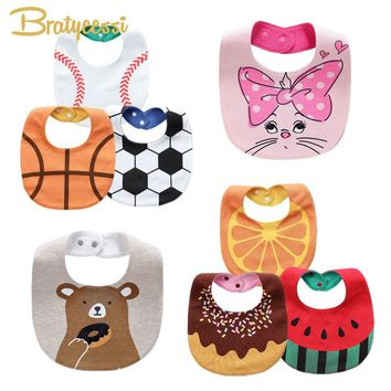 20 Design Baby Bibs Waterproof Cartoon Babador Infantil Cotton Bandana Bib Baby Accessories 1 PC
