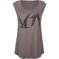RVCA VA Terns Womens Muscle Tank 211643104 | Graphic Tees & Tanks | Tillys.com