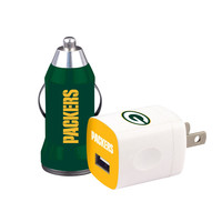 Mizco Green Bay Packers 2-Pack Home and Away Chargers