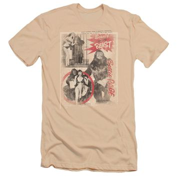 Bettie Page - Beauty & The Beast Premuim Canvas Adult Slim Fit 30/1