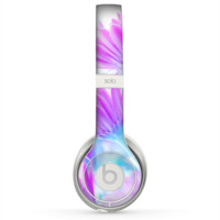 The Vibrant Blue & Purple Flower Field Skin for the Beats by Dre Solo 2 Headphones
