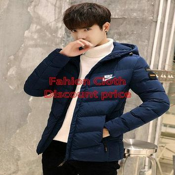 Nike Cotton-Padded Clothes M-4X P107 Blue