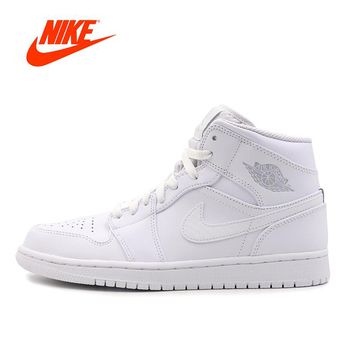 Original New Arrrival Official Nike Air Jordan 1 Men's Retro High Top Basketball Shoes Sports Sneakers 1
