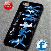 Blue exorcist       for iphone, ipod, samsung galaxy, HTC and Nexus PHONE CASE