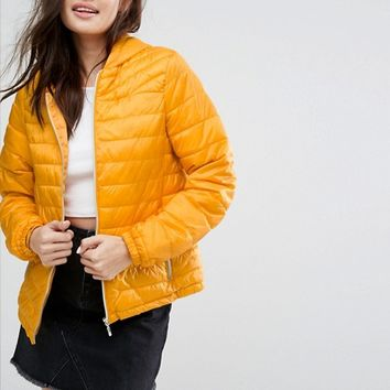 New Look Lightweight Padded Jacket at asos.com