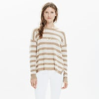 Warmlight Pullover Sweater in Stripe
