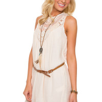 Gillian Lace Dress - Ivory