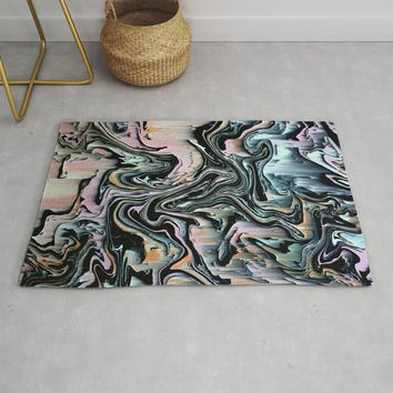 swrlgltch Rug by duckyb