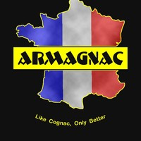 'Armagnac -- Like Cognac, Only Better' T-Shirt by Samuel Sheats