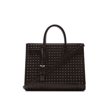 Saint Laurent YSL Women's Black Sac de Jour Handbag 355154