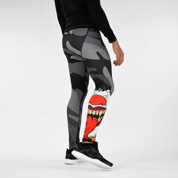 Evil Clown Mask Tights for men