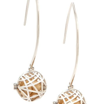 Nest Earrings - Silver