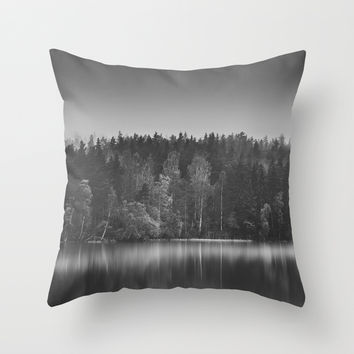 Echoes II Throw Pillow by HappyMelvin
