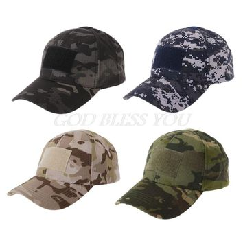 Free Shipping Military Tactical Camo Cap Army Baseball Hat Patch Digital Desert SWAT CP Caps
