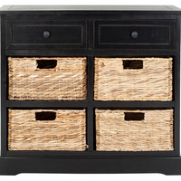 Hayden Storage Unit, Black, Cabinets & Hutches