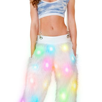 Light-Up Pant with Suspenders
