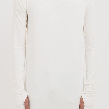 D16 Stealth Under Armour L/S Tee - White