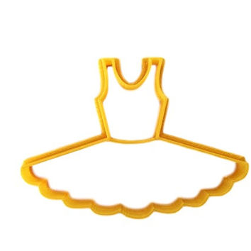 Tutu Dance Skirt Cookie Cutter