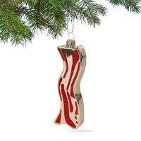Bacon Ornament - Whimsical & Unique Gift Ideas for the Coolest Gift Givers