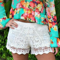 Nothin' Like You Lace Shorts