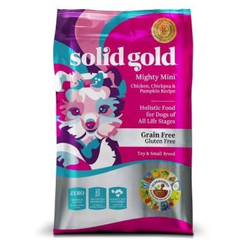 SOLID GOLD DOG DRY - MIGHTY MINI GRAIN FREE DOG CHICKEN - 11LB - SOLID GOLD - UPC: 93766151116 - DEPT: OTHER PET FOODS