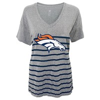 Denver Broncos Striped Tee - Juniors