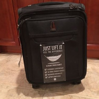 Delsey Luggage Helium X'Pert Lite 16-inch Personal Carry On Spinner Trolley Tote