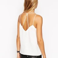 ASOS Plunge Neck Strappy Cami Top