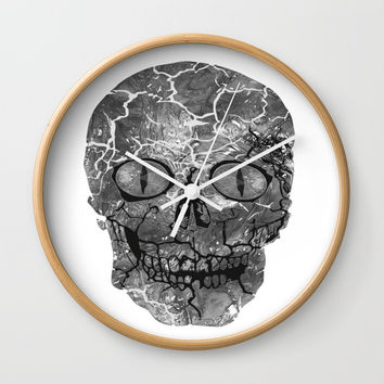 My Spooky Gothic Halloween Costume Wall Clock by Lena Owens/OLenaArt