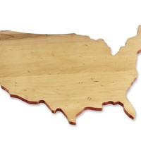 J.K. Adams USA Artisan Maple Cutting Board