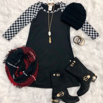 Picnic in the Park 3/4 Tunic Dress