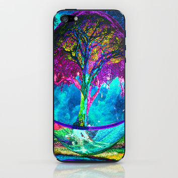 Tree of Life Meditation iPhone & iPod Skin by TreeofLifeShop | Society6