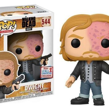 2017 NYCC Exclusive Funko pop Horror: Walking Dead - Dwight Vinyl Action Figure Collectible Model Toy with Original Box