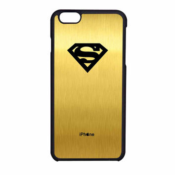 Superman Logo In Gold iPhone 6 Case